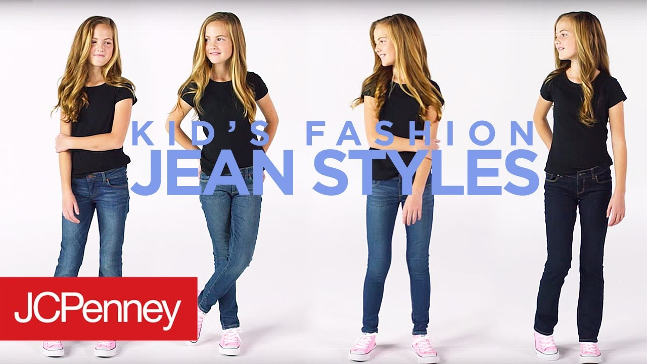 b6ce0db10 Kids Fashion  4 Jean Styles for Girls