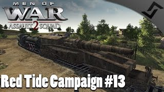 Bruno Railwaygun - Men of War: Assault Squad 2 - Red Tide Mission 13