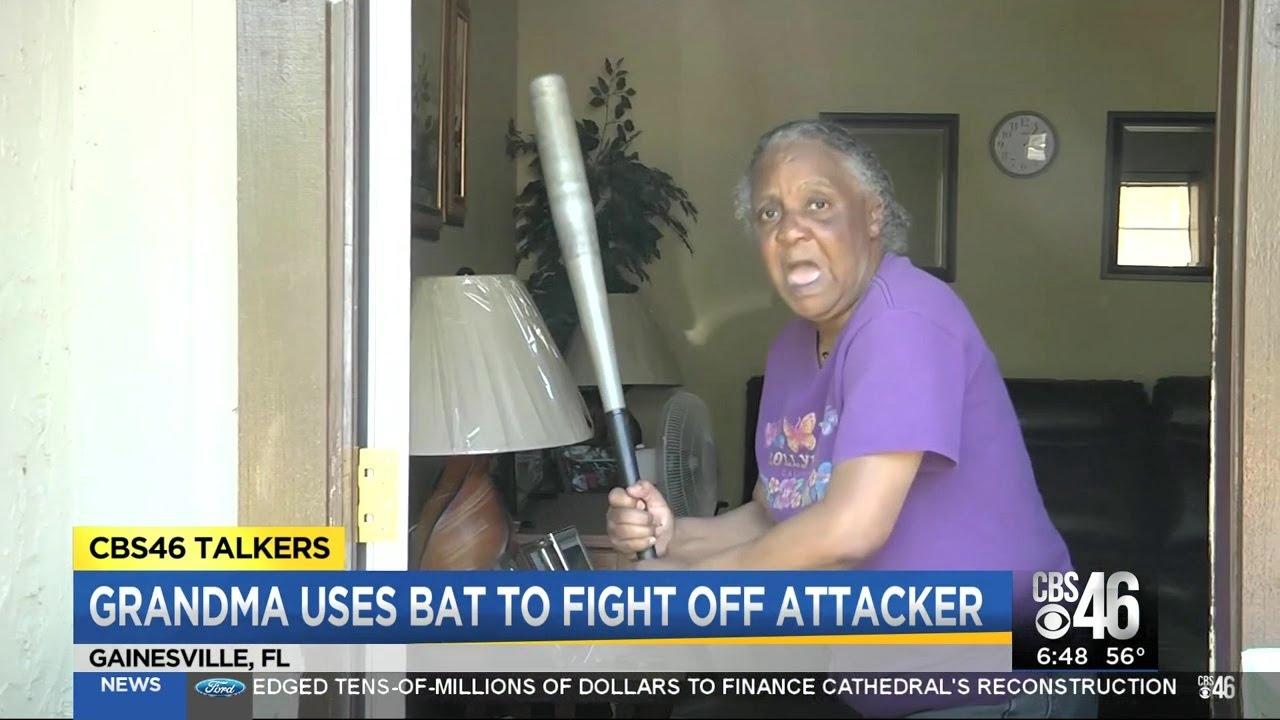 Grandma wasn't having it