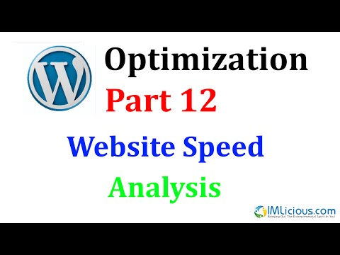 WordPress Optimization Part 12: Website Speed Analysis