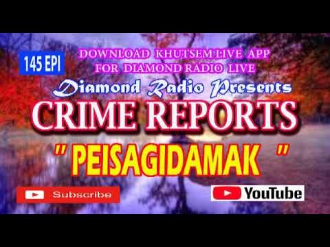 CRIME REPORTS 145 EPI DIAMOND RADIO