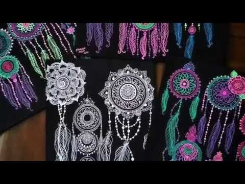 Art Projects: Dream Wonderland | Creative Neon Dream Catcher
