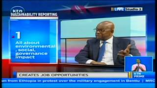 Job Centre : Sustainability reporting with Bob Collymore, CEO Safaricom Ltd