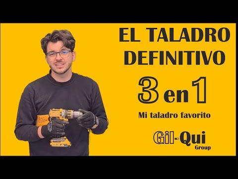 ✅ CUAL ES EL MEJOR TALADRO DE BATERIA 2021 taladro + atornillador + percutor