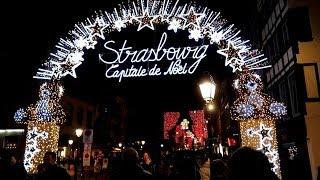 法國最古老的聖誕市集 史特拉斯堡  Strasbourg Christmas Market 2018|by Erita