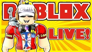 Roblox Live Stream with You! - Action Games - Run, Hide, Escape, and Parkour - Jailbreak and more