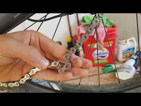 How To: Remove and clean a MTB chain