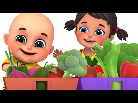 Yes Yes Vegetables Song | Education videos | nursery rhymes by  Jugnu kids