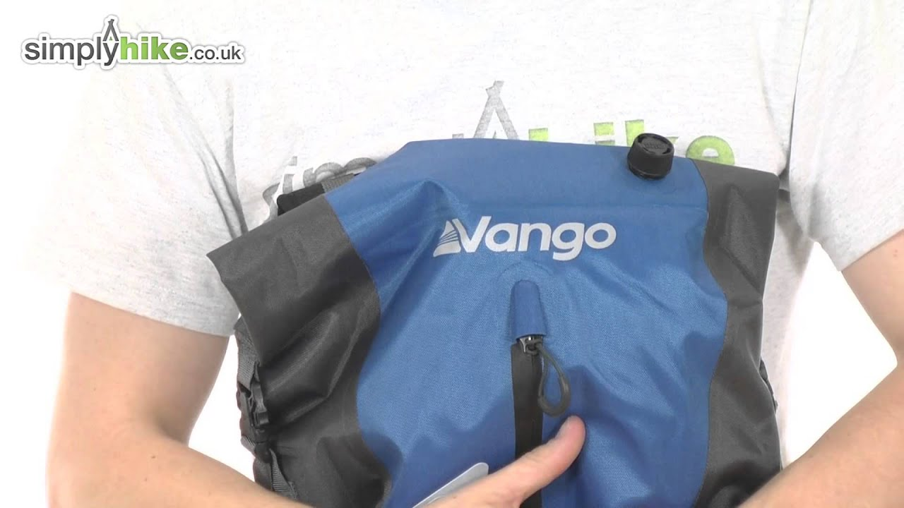 ELECTRIC BLUE Vango Dry Pak 20L Rucksack