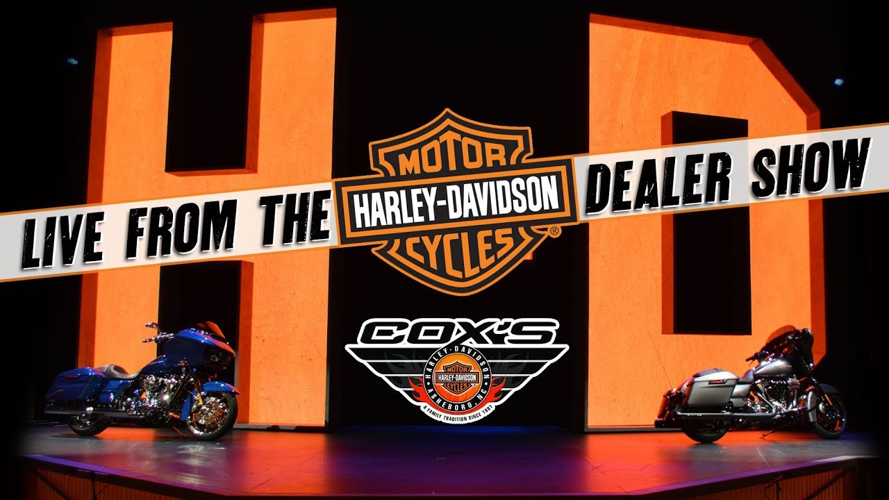 2018 Harley-Davidson Model Launch Live From the Dealer ...