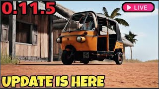 PUBG MOBILE NEW UPDATE IS HERE - AUTO RICKSHAW & NEW WEAPON