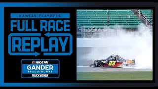 Hailie Deegan's Truck Series Debut : Clean Harbors 200 from Kansas | NASCAR Trucks Full Race Replay