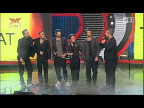 Take That - The Flood - Live@XFactor Italy 2010 + Interview