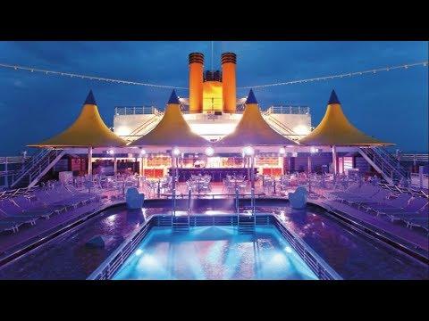 Costa Deliziosa cruise ship,Mediterranean sea Vacation 1080P