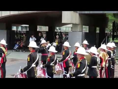 Royal Marines Freedom of Newcastle