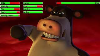Barnyard (2006) Final Battle with healthbars (60K Subscriber Special)