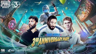 PUBG MOBILE 3RD ANNIVERSARY PARTY