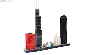 LEGO Architecture Chicago skyline review! 21033