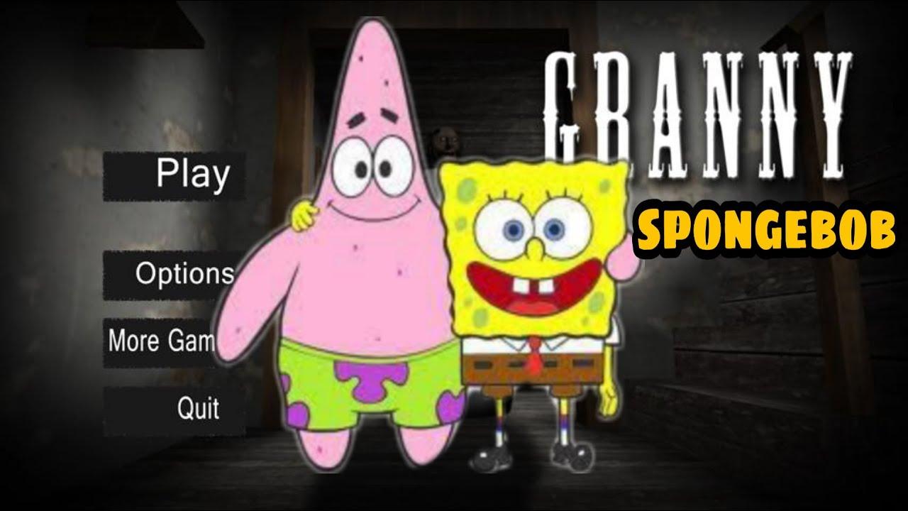 جراني تحولت لي سبونج بوب وبسيط🐙💙👹granny is spongebob and patrick |جراني تحديث الجديد|horror game|