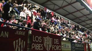 Prensa Unión   Minutos finales del partido ante Aldosivi en el Estadio Cubierto