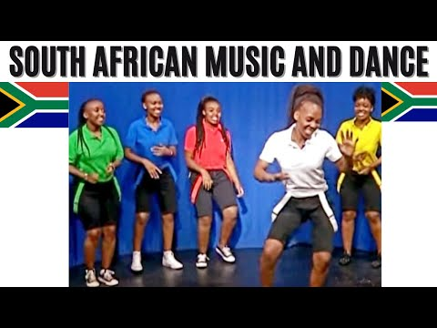 Various Southern African PARTY Dance Styles by Simunye