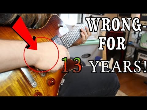 Changing My Picking Hand After 13 Years