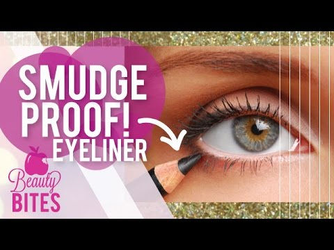 How to Stop your Eyeliner from Smudging | Pretty Smart - YouTube