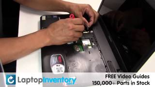 Toshiba Satellite C650 Touchpad Replacement Guide - Install Fix Replace Mouse Palmrest L670 L675
