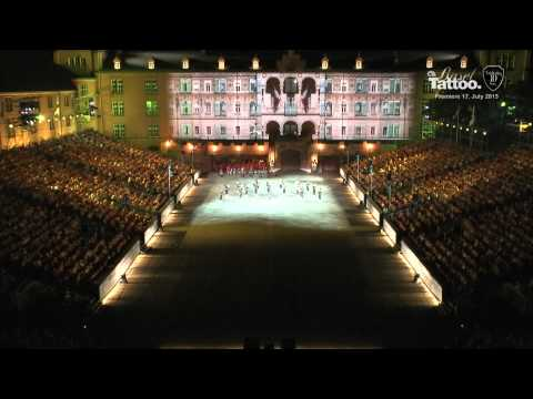 2015 Basel Tattoo Premiere Multicam HD - Ganze Show