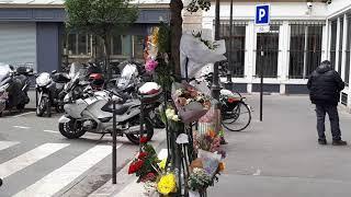 Moment de recueillement et hommage  à Ronan Gosnet, Victime de l'attaque au couteau By Iknews: