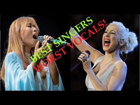 BEST SINGERS WORST VOCALS!!