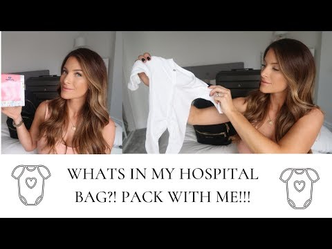 WHATS IN MY HOSPITAL BAG?! | PACK WITH ME | HINTS AND TIPS FOR PACKING YOUR HOSPITAL BAG thumbnail