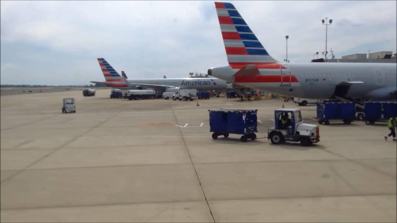 American Airlines Takeoff From Philadelphia International