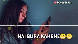 Jo mujhe samajh na saka shayari || new tik tok whatsapp status video || Deepu R Raj ||