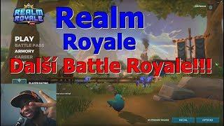 Cerberos hraje: Realm Royale (Fortnite ze světa Paladins) CZ