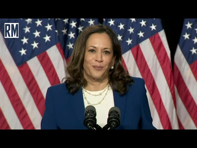 Kamala Harris Lies Through Entire Acceptance Speech