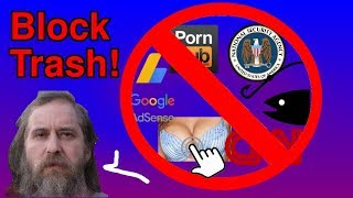 Block All Ads, Tracking, Porn and Junk in One Fell Swoop!