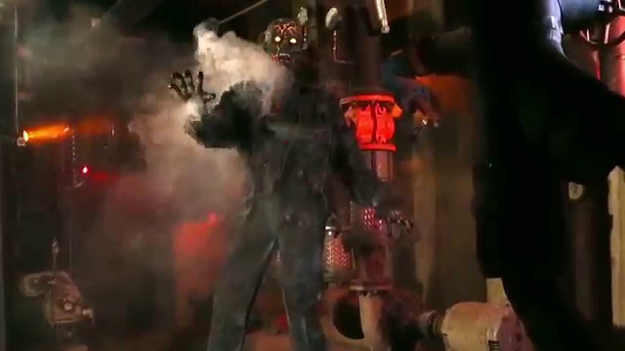 smoldering zombie spirit halloween youtube