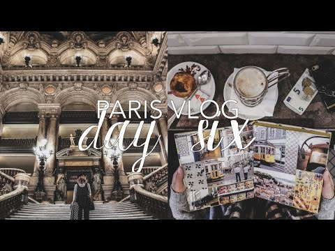 Paris Vlog: Day Six (Palais Garnier Tour, Amazing Montmartre View & Eiffel Tower at Trocadéro)