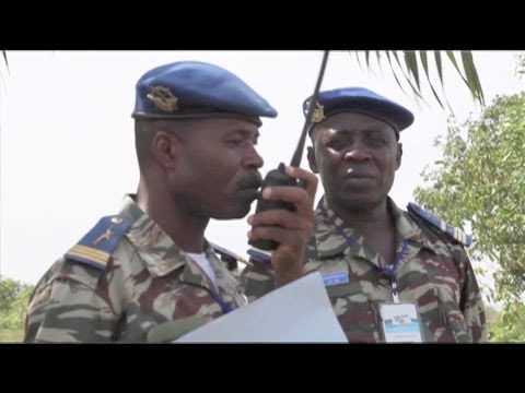 Cameroonian Air Force Supply Drop Training With USAF