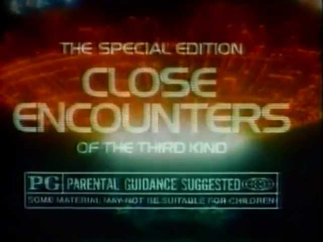 Close Encounters of the Third Kind: The Special Edition 1980 TV trailer