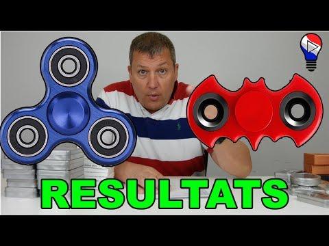Résultats des Concours Batman et Tri Aluminium Hand Fidget Spinner ThinkUnBoxing LIVE !