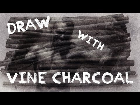 How To Draw / Sketch With Vine Willow Charcoal - Figure Pose Back View With Chris Legaspi
