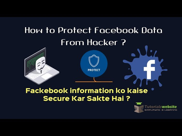 How to Protect Facebook Data From Hacker   Facebook data kaise safe kare   The Facebook Container