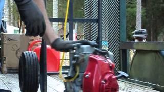 видео Двигатель Honda GX 100