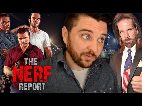 Is GTA V the King of ALL Media? 19 NEW Xbox Games, and Donkey Kong Drama - The Nerf Report Ep. 47