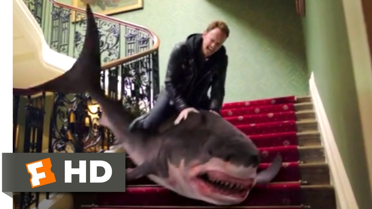 Download Sharknado 5: Global Swarming (2017) - Riding the Shark Scene (4/10)   Movieclips