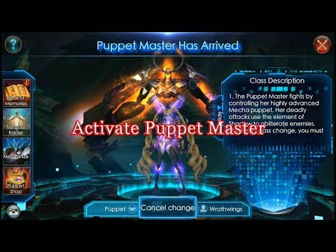 Legacy Of Discord - Activate Puppet Master || New Update June 22th