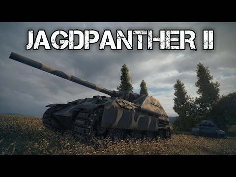 World of Tanks - Jagdpanther II Tier 8 Tank Destroyer - Rawr!