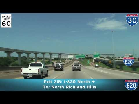 I-30 West: Fort Worth Texas